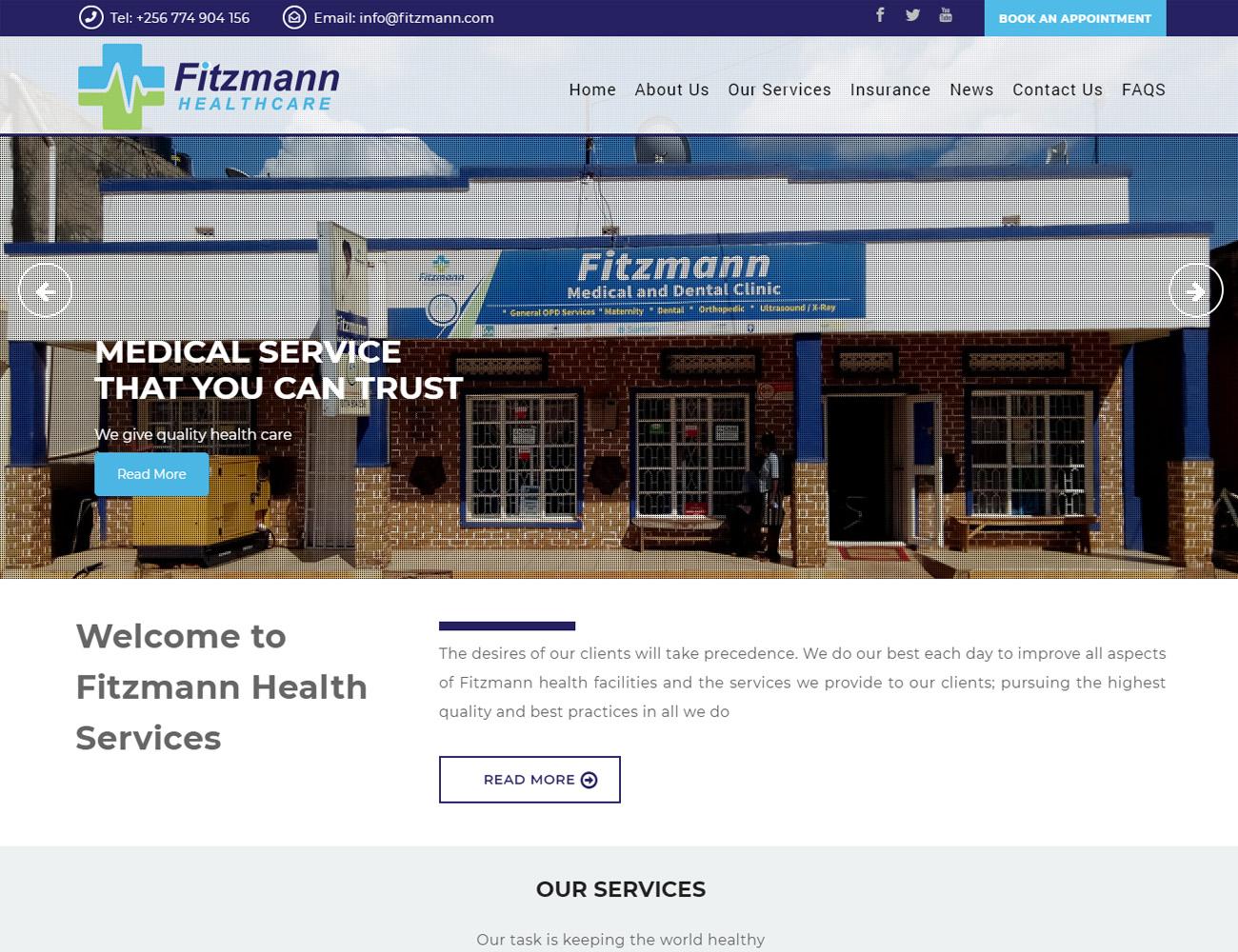 Fitzmann Website Designed by HostGiant